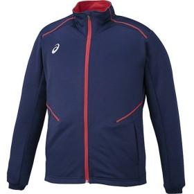 [アシックス] トレーニングジャケット ネイビー XAT10T 50 Large
