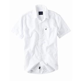 (アメリカンイーグル ) AMERICAN EAGLE/ショートスリーブ オックスフォードシャツ 半袖シャツ 大きい サイズ メンズ XL XXL XXXL (XL) [並行輸入品]