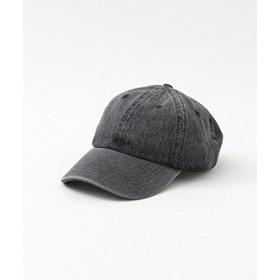 [サニーレーベル] 帽子 キャップ NEWHATTAN CAP レディース ブラックデニム one