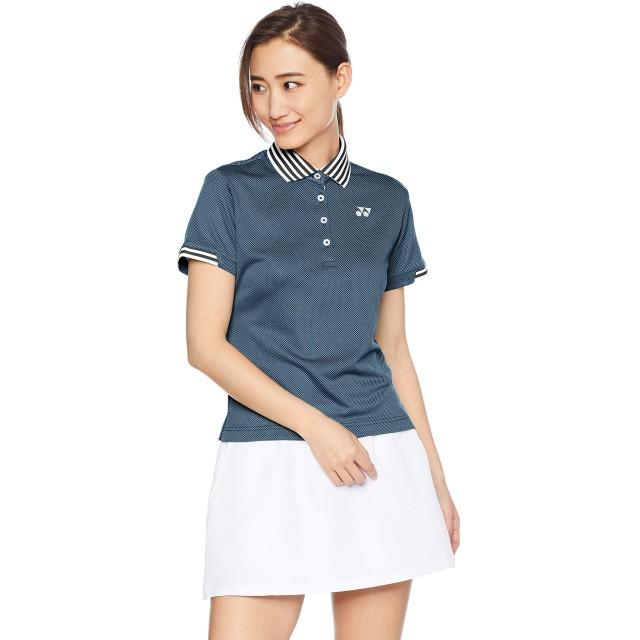 [ヨネックス] テニスウェア ゲームシャツ [レディース] 20483 ネイビーブルー (019) 日本 M (日本サイズM相当)