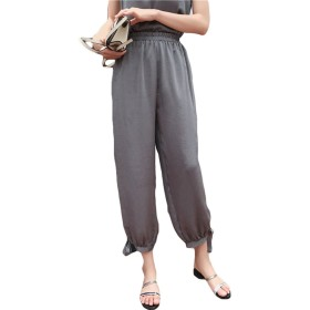 Jocolate(ジョコレート) ロングパンツ レディース 夏 ゆったり 無地 パンツ ボトムス カジュアル 着やせ