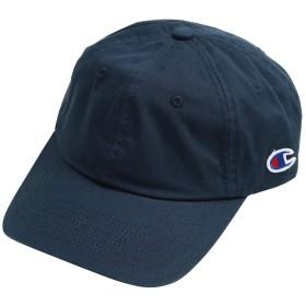 Champion (チャンピオン) ローキャップ 帽子 キャップ ロゴ コットン 綿 フリーサイズ ネイビー
