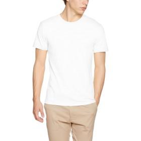 [ダルク] Tシャツ DM101 メンズ ホワイト 日本 S-(日本サイズS相当)