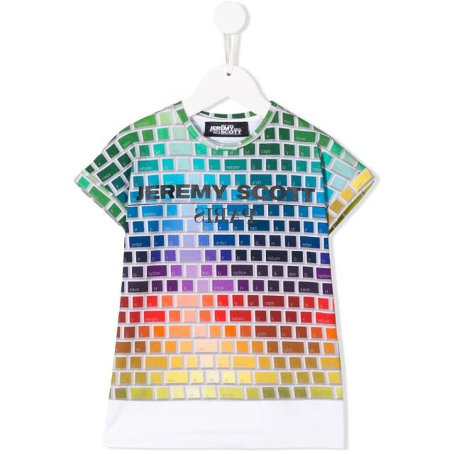 Jeremy Scott Junior レオパード プリント Tシャツ - ホワイト