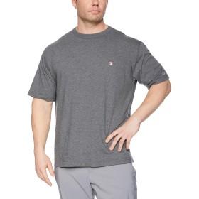 [チャンピオン] ワンポイントロゴTシャツ ベーシック 大きいサイズ C3-P300L メンズ ヘザーチャコール 日本 5L (日本サイズ5L相当)