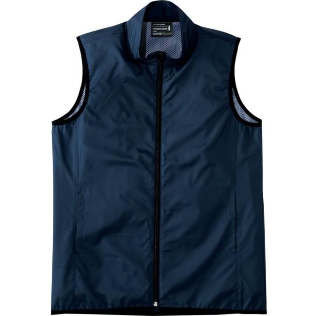 [ライフマックス] フィットネス ジャケット メンズ MJ0068 ネイビー 日本 L-(日本サイズL相当)