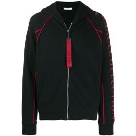 Versace Collection ジップアップ パーカー - ブラック