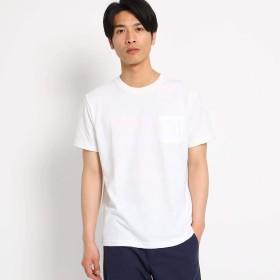 (ザ ショップ ティーケー) THE SHOP TK リンクスジャガードTシャツ 61636632 02(M) オフホワイト(003)