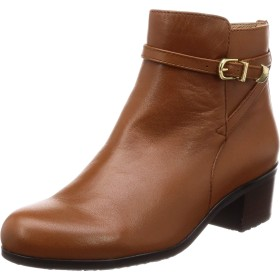 [アシナガオジサン] ブーツ 2810181 レディース キャメル 24.5 cm