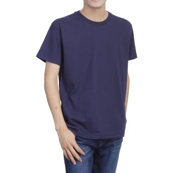 ティーシャツドットエスティー Tシャツ 半袖 無地 厚手 スーパーヘビーウェイト 7.1oz メンズ ネイビー M