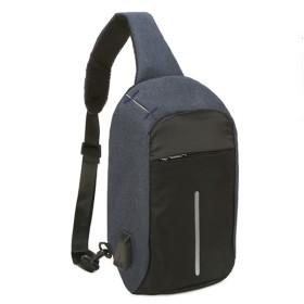 SHINA カジュアルな ワンショルダーバック ショルダーバッグ チェストバッグ クロスボディバッグ USB充電 盗難防止 旅行 アウトドアスポーツ バックパック 防水大容量 メンズ レディース
