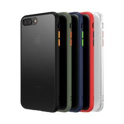 QinD Apple iPhone Xs/X 雙料膚感保護殼