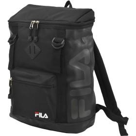 (フィラ)FILA ブランド ロゴ ボックス リュック GR00811 ブラック