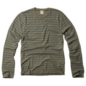 [ホリスター] HOLLISTER 正規品 メンズ 長袖Tシャツ Arch Bay T-Shirt 324-369-0517-030 L 並行輸入品 (コード:4076910308-4)