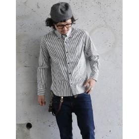 ボタンダウンシャツ 国産 日本製 無地 1440