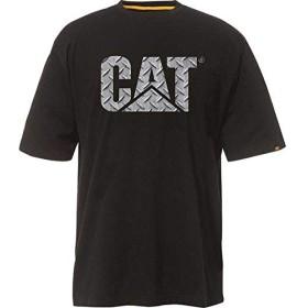 [キャタピラー] メンズ Tシャツ Custom Logo Tee [並行輸入品]