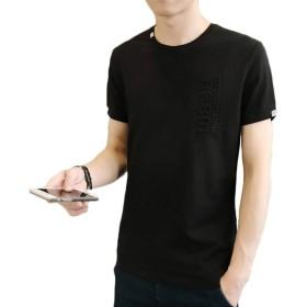 メンズ トップス Tシャツ 無地シャツ 速乾 夏服 クルーネック おしゃれ シンブル ベーシック ドライ サマーシャツ 半袖 柔らかい カジュアル アウトドアシャツ 通学 快適 軽い メンズシャツ