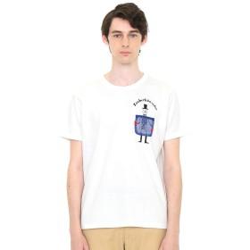 (グラニフ) graniph ポケット Tシャツ マジシャン (ホワイト) メンズ レディース SS (g01) (g14)