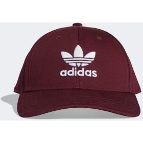 (アディダス オリジナルス) adidas Originals FUC24 TREFOIL CLASSIC BASEBALL CAP (OSFX 57-60cm, DV0175 MAROON x WHITE)