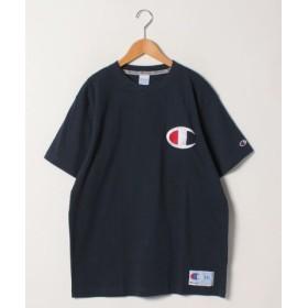 (MARUKAWA/マルカワ)【Champion】 大きいサイズ 半袖 Tシャツ ビッグ ロゴ チャンピオン/メンズ ネイビー