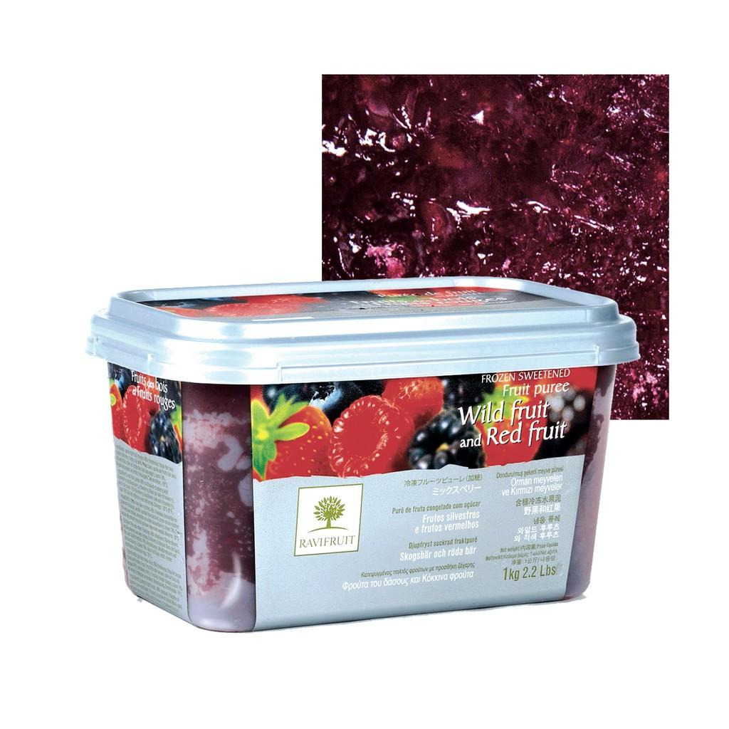 【德麥食品】樂比 冷凍綜合紅莓果泥 /1kg