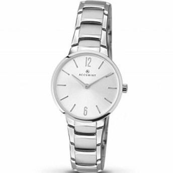 【当店1年保証】アキュリストAccurist Womens Analogue Classic Quartz Watch with Stainless Steel S