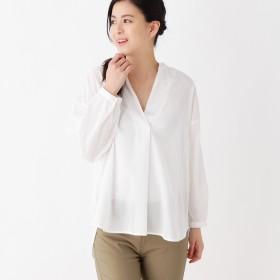 (ピンクアドベ) pink adobe ゆったりスキッパーシャツ 76384236 40(L) オフホワイト(003)