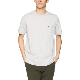 [ラコステ] Tシャツ(半袖) メンズ TH633EM グレー EU 003 (日本サイズM相当)
