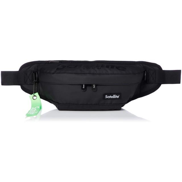 [シフレ] PUSH WAIST BAG [サテライト] Satellite PVC ブラック/ブラック
