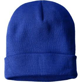 [プリントスター] 帽子 ダブル ニット ワッチ 00729-DW メンズ ロイヤルブルー F (フリーサイズ)
