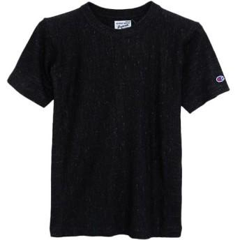 [チャンピオン] リバースウィーブ Tシャツ C3-F302 メンズ ミッドナイトブラック 日本 L (日本サイズL相当)