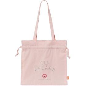 [オフィシャル] カカオフレンズ – 日本エディション ちびアピーチ巾着エコバッグ KAKAO FRIENDS - JAPAN EDITION Chibi Apeach Tote Bag