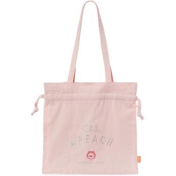 [オフィシャル] カカオフレンズ – ちびアピーチ巾着エコバッグ KAKAO FRIENDS - Chibi Apeach Tote Bag