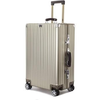 サイズが選べる スーツケース アルミ マグネシウム合金ボディ TSAロック付き