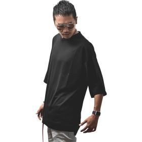 ジョーカーセレクト(JOKER Select) オーバーサイズTシャツ メンズ トップス 半袖 半袖T Tシャツ ビッグサイズ M ブラック(ポンチ)