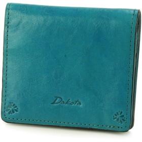 [ダコタ] 二つ折り財布 本革 バンビーナ 0036120 レディース ブルー DA-36120-65