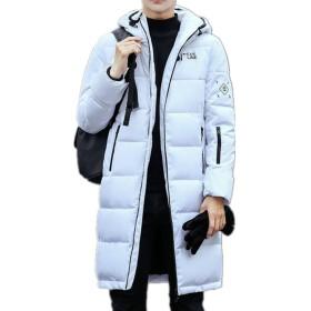 Infabe ダウンジャケット アウター コート 防寒 防風 冬 軽量 メンズ ダウンコート 冬の暖かい 大きいサイズ 上品 アウトドア 防寒コート 冬