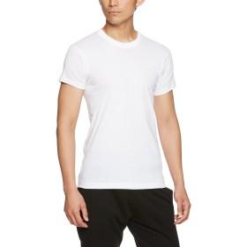 [グンゼ] インナーシャツ 快適工房 綿100% 半袖丸首 KH5014 メンズ ホワイト 日本L (日本サイズL相当)