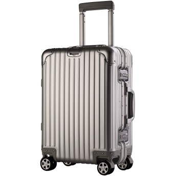 【Falando】 スーツケース キャリーケース アルミマグネシウム合金 キャリーバッグ ダブルキャスター・静音 TSAロック搭載 カバー付属 軽量 機内持込