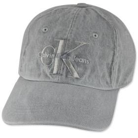 (カルバンクライン)Calvin Klein STRUCTURE FRONT LOGO DAD HAT-WASH DENIM GREY ウォッシュドグレー 16409