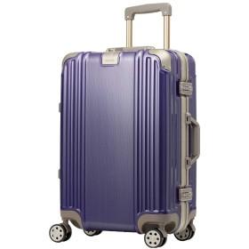 名入れ スーツケース キャリーケース キャリーバッグ Sサイズ アイリスパープル ダイヤルロック ダブルキャスター レジェンドウォーカー 5509-48