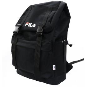 フィラ リュック 大容量 サイドファスナー バックパック 01.ブラック