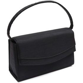 アン・アン フォーマルバッグ ブラック ハンドバッグ 冠婚葬祭 入学式 卒業式 (バッグ単品)