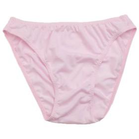 ユニセックスショーツ コットン天竺生地 ビキニショーツ ラポーム Gシリーズ (ピンク, LL)