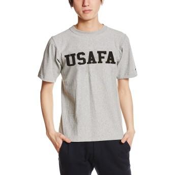 [チャンピオン] リバースウィーブ Tシャツ C3-F371 メンズ Oグレー×ブラック 日本 M (日本サイズM相当)