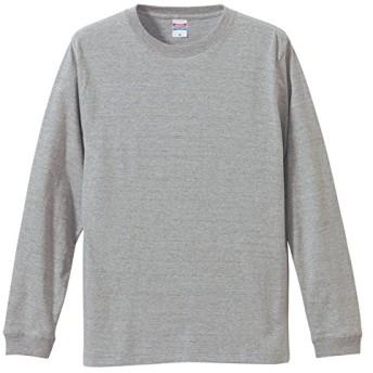 長袖Tシャツ 5.6オンスロングスリーブTシャツ(1.6インチリブ) XS~XLサイズ 11カラー ユナイテッドアスレ5011-01 UnitedAthle XL,006ミックスグレー