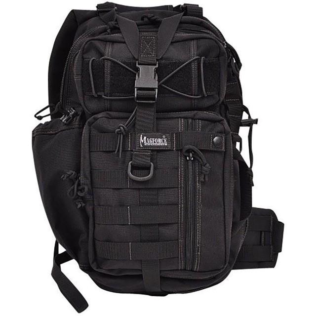 (マグフォース) MAGFORCE MF-0431 Archer SLING BAG ワンショルダーバッグ ブラック メンズ ショルダー ビジネスバッグ