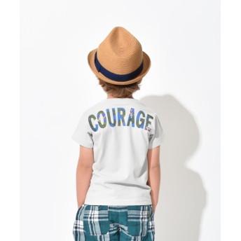【25%OFF】 ブランシェス バックロゴ半袖Tシャツ(90~150cm) レディース ライトグレー 100cm 【branshes】 【セール開催中】