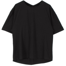 ティティベイト バックツイストTシャツ レディース ブラック F 【titivate】