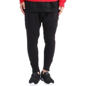 (バレッタ) Valletta メンズ サルエル スウェットパンツ 裏シャギー ボア 裾ジップ付 [メンズ] 3-3(ブラック) Mサイズ
